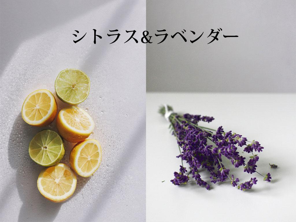 シトラス&ラベンダーの香り
